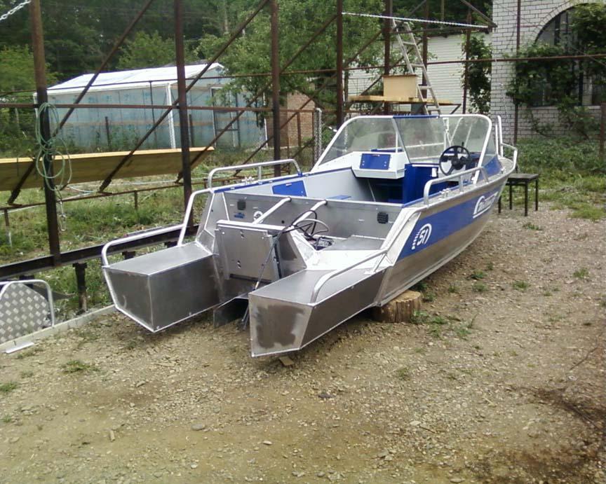 как правильно сделать транец на лодку крым